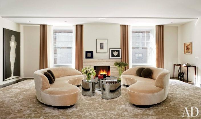 Home Furniture Top Design Brands Fendi And Vladimir Kagan New York Interiors Home Furniture Top