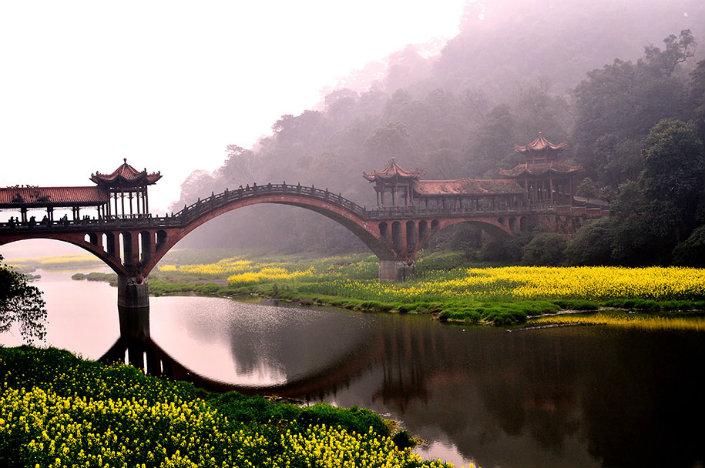 Top 10 magical bridges by BRABBU: An unforgettable travel Top 10 magical bridges by BRABBU: An unforgettable travel Top 10 magical bridges by BRABBU: An unforgettable travel Leshan Sichuan Province China