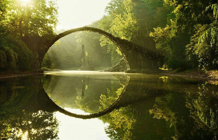 Top 10 magical bridges by BRABBU: An unforgettable travel Top 10 magical bridges by BRABBU: An unforgettable travel Top 10 magical bridges by BRABBU: An unforgettable travel Rakotz Br  cke Germany