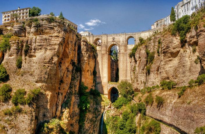 Top 10 magical bridges by BRABBU: An unforgettable travel Top 10 magical bridges by BRABBU: An unforgettable travel Top 10 magical bridges by BRABBU: An unforgettable travel Ronda Malaga Spain