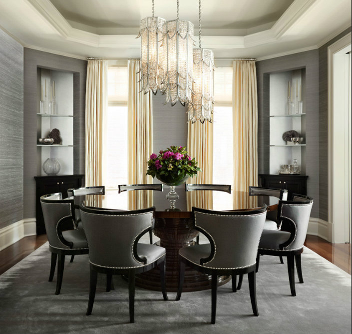 round dining tables ideas and styles for sophisticated interiors