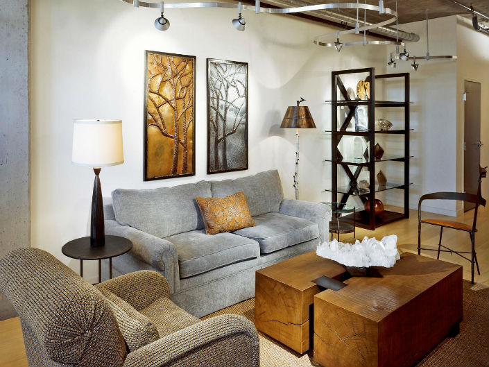 the right table lamps for small living rooms