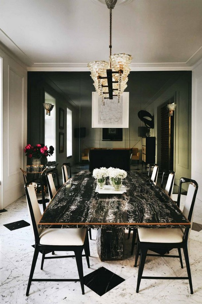The Magnificience In Having A Marble Dining Table The Magnificience In  Having A Marble Dining Table ...