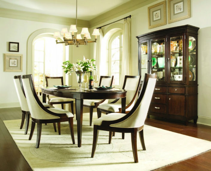 The Most Comfy Upholstered Dining Room Chairs 6