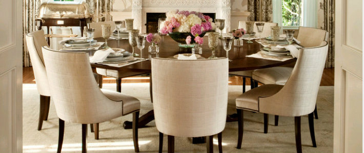 The Most Elegant Round Dining Table Decor Ideas