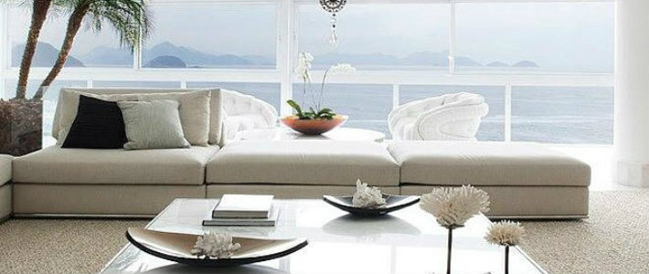 The most recent living room sets by Minotti0