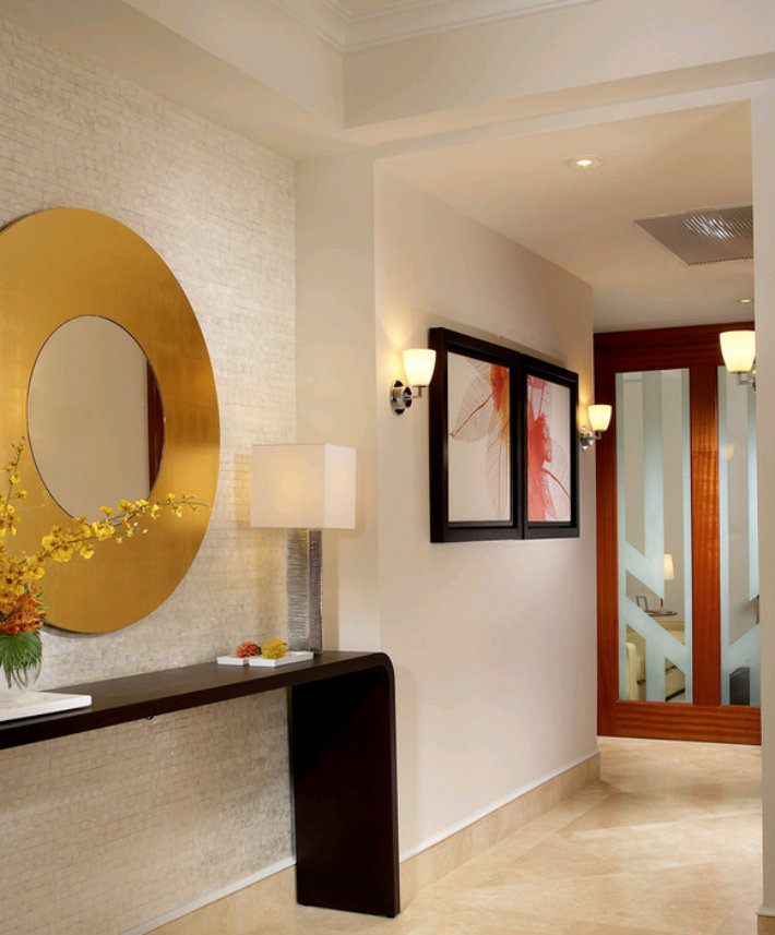 Top 5 Ideas For A Gold Round Mirror J Design Group
