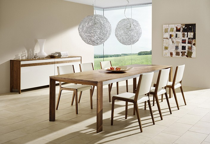 Contemporary Dining Room Tables For 6, Modern Dining Room Tables