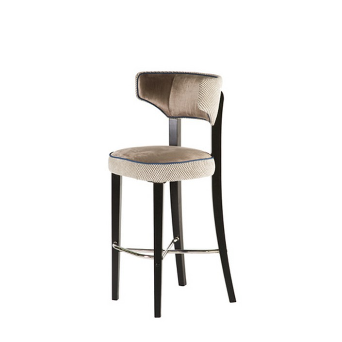 Usually we listen about bar stools, but now the trend is bar chairs.  8 beautiful modern bar chairs in velvet 8 beautiful modern bar chairs in velvet elegant velvet bar chair1
