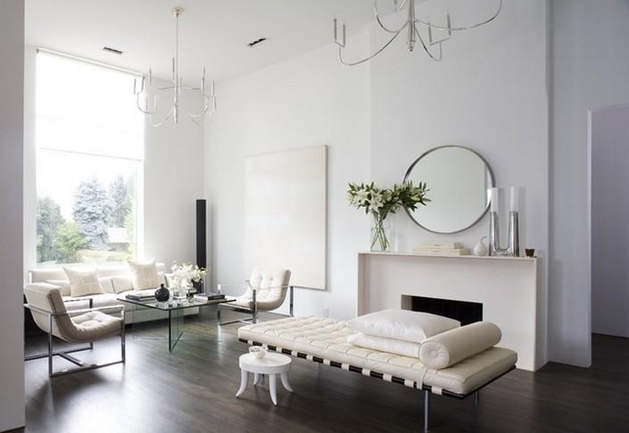 Round mirror: 10 ideas and styles
