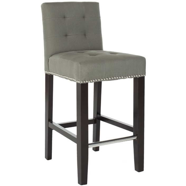 Usually we listen about bar stools, but now the trend is bar chairs.  8 beautiful modern bar chairs in velvet 8 beautiful modern bar chairs in velvet modern bar chair in grey velvet1