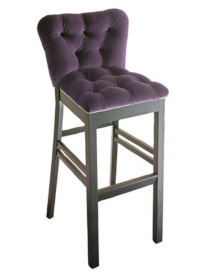 8 beautiful modern bar chairs in velvet for Beautiful designer chairs