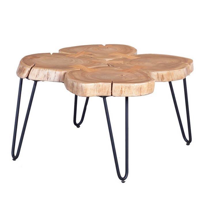 Wood Coffee Table Brabbu Design Forces