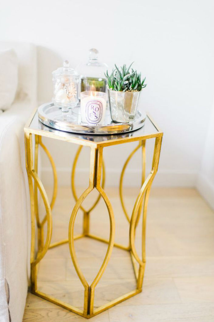 Hotel Furniture 2015 trends: Top 5 gold side tables ideas