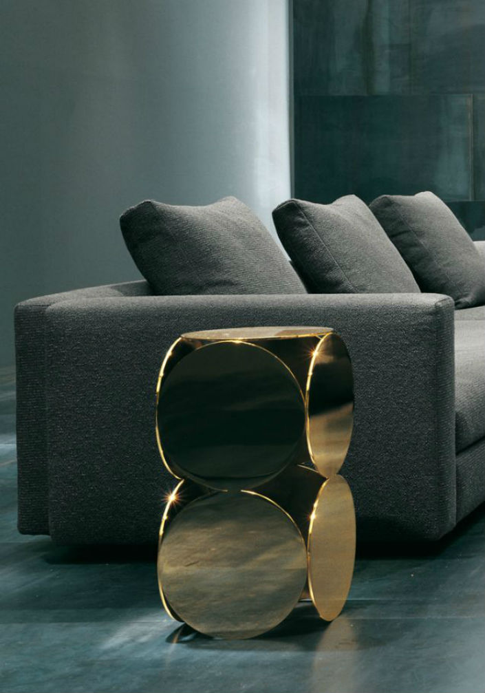 Hotel Furniture 2015 trends: Top 5 gold side tables