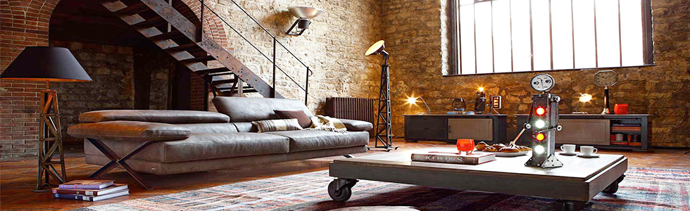 Merveilleux 5 Industrial Brass Lamp Ideas For A Modern Living Room
