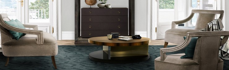 5 Round center table for a modern living room