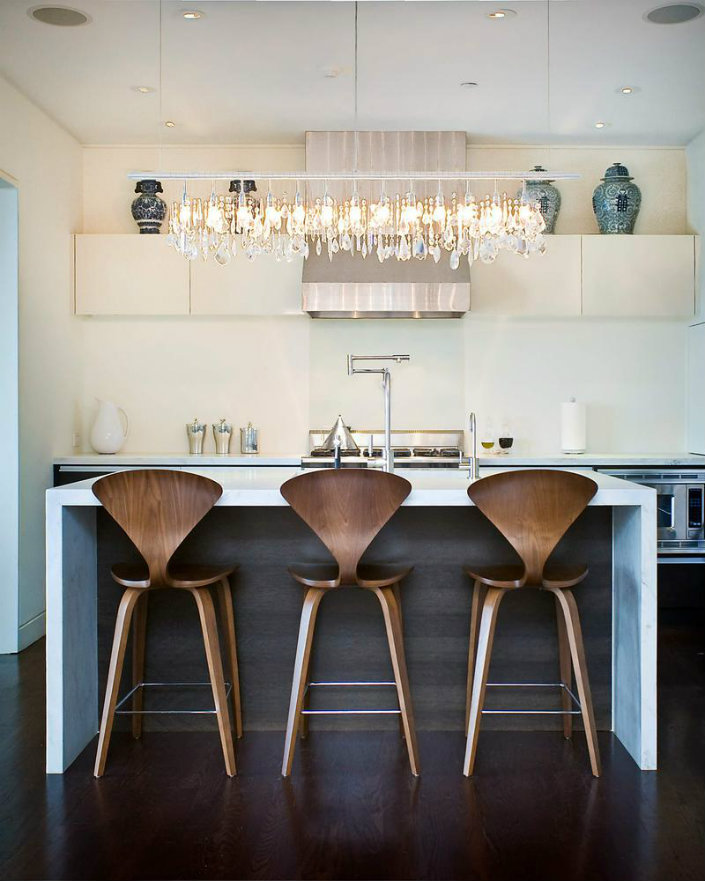 6 modern kitchen stools with backs | BRABBU | Design Forces