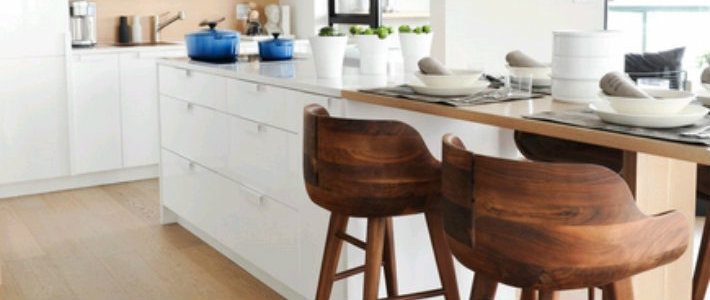 7 Modern Bar Chairs With Wooden Base