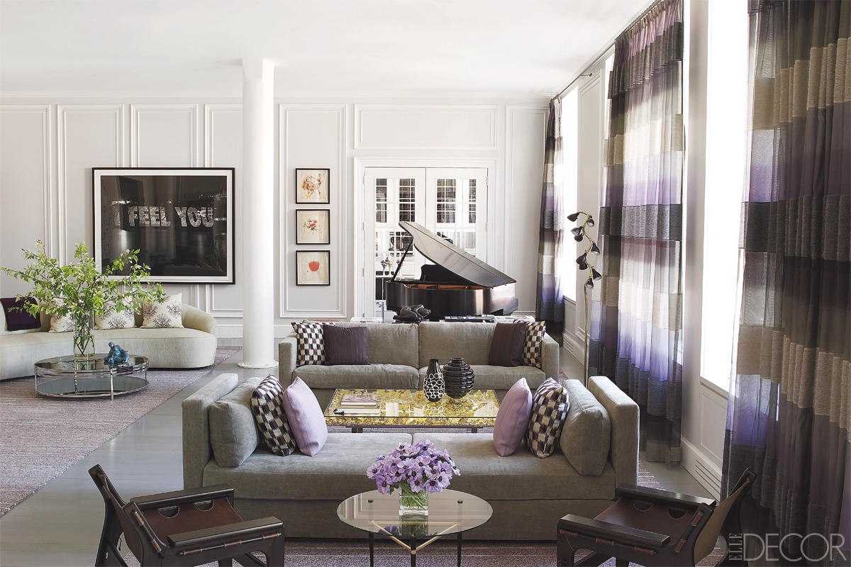 Modern Living Room San Francisco Best Interior Design 12: Best Modern Home Décor Projects By Elle Decor