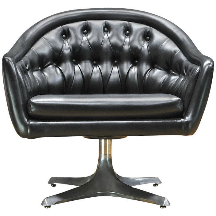 Hotel Furniture 2015 Trends: Top 5 Black Leather Chairs Ideas Chromcraft  Star Trek Sculpta