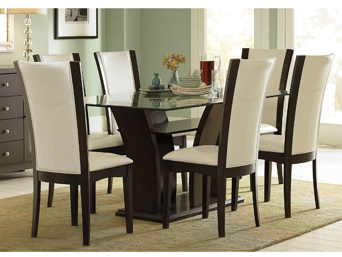 Dining Room Decor Ideas The Elegancy Of A Table And 6 Chairs 1