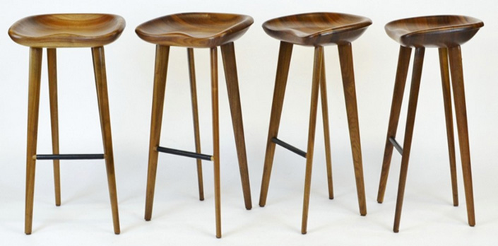 Hotel Furniture 2015 trends: Top 5 BACKLESS BAR STOOLS IDEAS