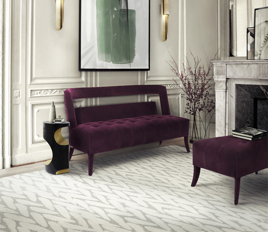 Purple Living Room Furniture.  Must Know 2015 Living Room Furniture Trends