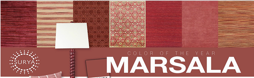 how to use marsala in living room