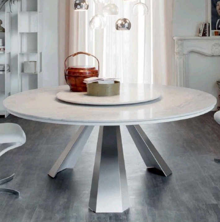 Top 5 White Marble Round Dining Table Cattelan Italiatop Italia