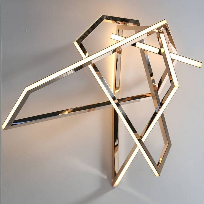 5 inspiring brass wall lights for small apartments interiors