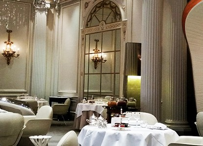 Alain Ducasse, a luxury restaurant to be at Paris Design Week 2015