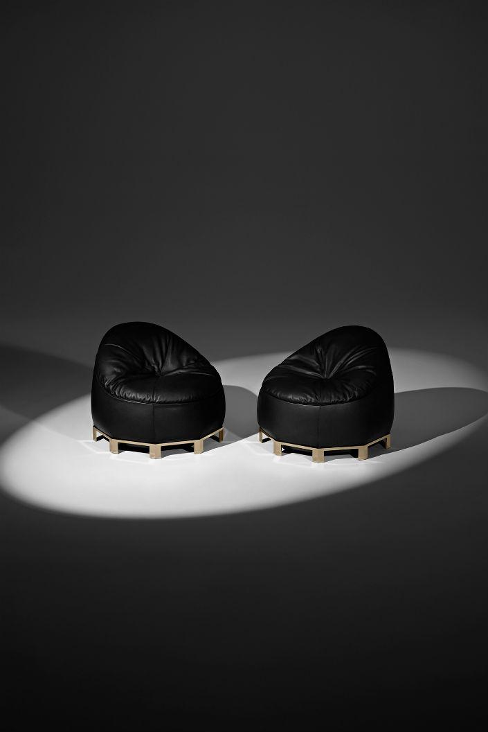 Alexander Wang Designs Beanbag Chairs For Poltrona Frau 1 ALEXANDER WANG DESIGNS FURNITURE COLLECTION TO POLTRONA FRAU ALEXANDER WANG DESIGNS FURNITURE COLLECTION TO POLTRONA FRAU Alexander Wang Designs Beanbag Chairs For Poltrona Frau 1