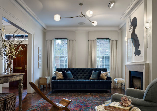 How To Decorate A Blue Velvet Sofa 5 Brabbu Design Forces