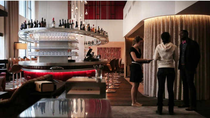 Best contemporary hotels virgin hotel chicago by rockwell for Best hotel group