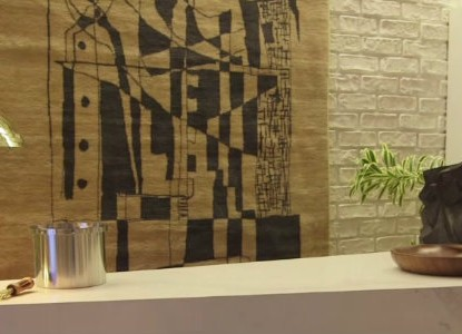 Architectural Digest Green Room - Sneak Peek at Oscars 2015 backstage