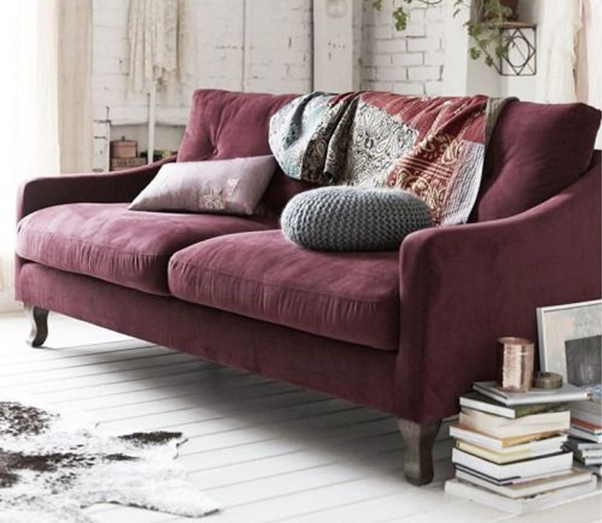 . Modern living room furniture trend  5 velvet sofa ideas