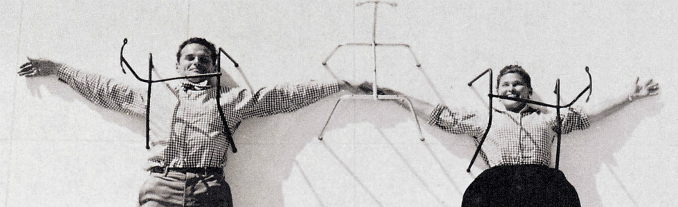 20th century best designers Charles and Ray Eames 1
