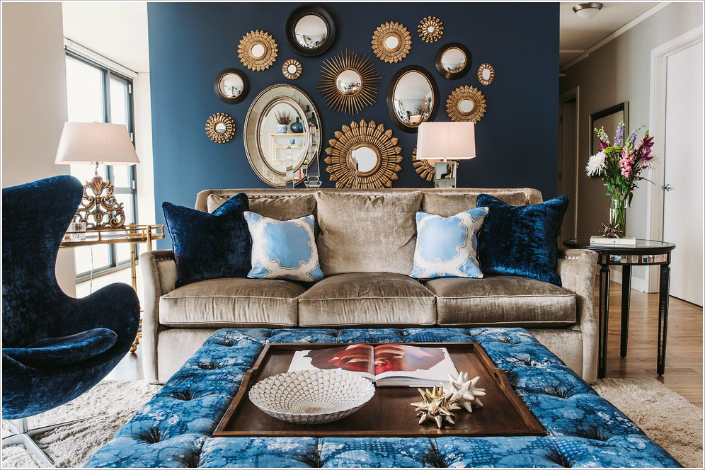 home decor fabric trends 2015 home decor trend the blue velvet 12234