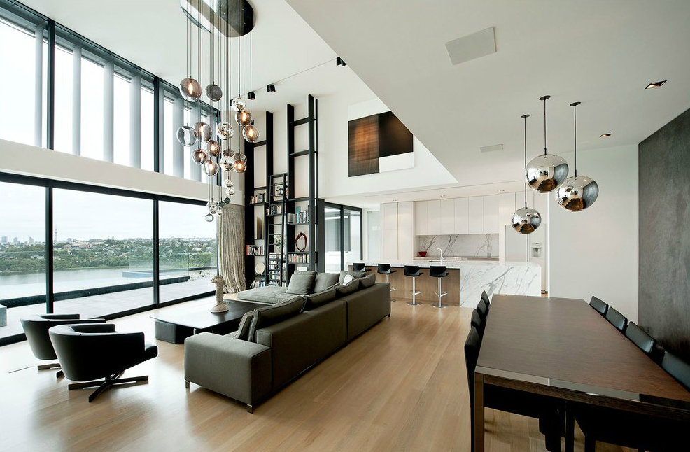 Interior Design Tips how to add a shinning style with