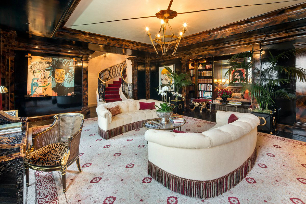 Jaw dropping tommy hilfiger 39 s penthouse at new york plaza for Interior design blogs nyc