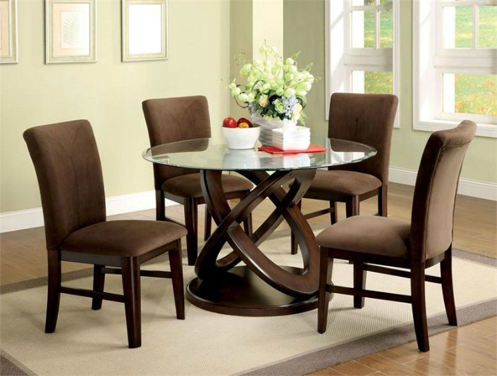 Round Dining Table Set For 6 Great Dining Table Round Outdoor