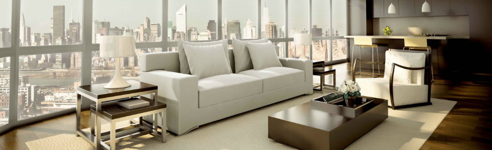 ICFF 2015 Highlights: Top 7 Contemporary Sofas ICFF 2015 Highlights: Top 7 Contemporary Sofas White Modern Sofa Designs On Contemporary Apartment Living Room Design