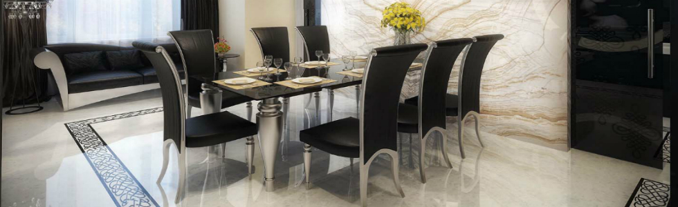 Elle Decor Tips: How to Get a Modern Dining Room Set