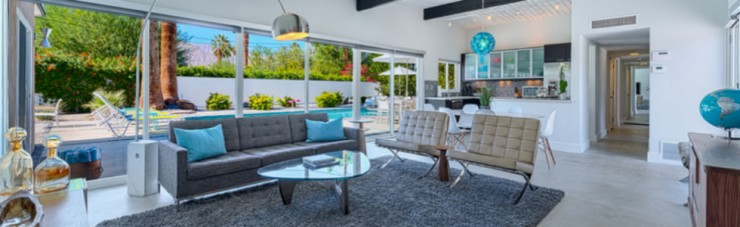 Summer Decor-The Palm Springs Style