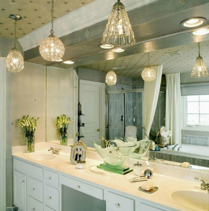 The Perfect Suspension Lighting For A Luxury Bathroom