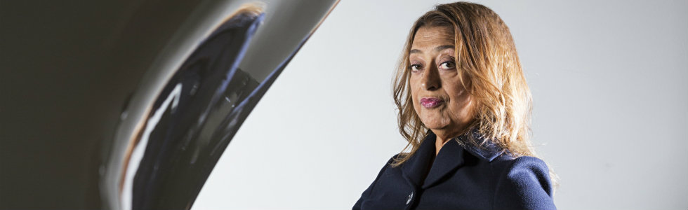 Zaha Hadid Expands Her Liquid Glacial Art Collection