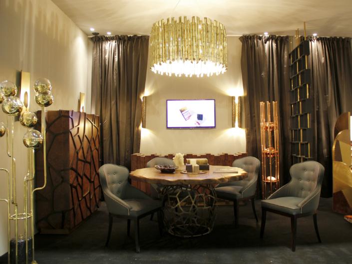 ... Unforgettable Modern Dining Room. Brabbu Maison Objet January 2015 7 HR  Elle Decor Tips