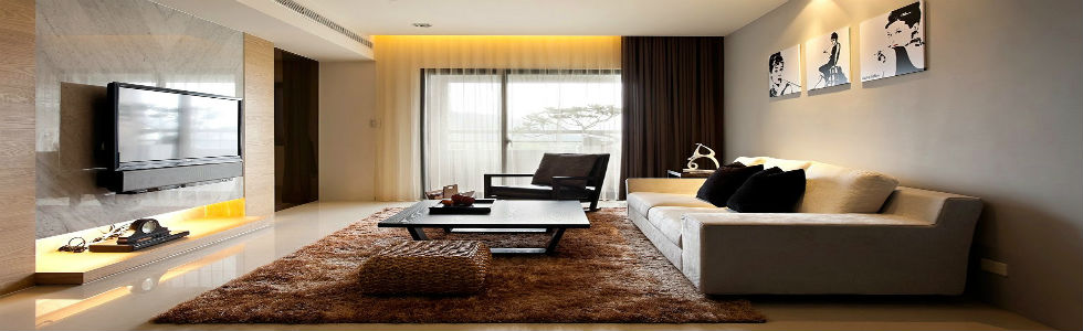 Top 10 uk interior design blogs for Minimal living room decor