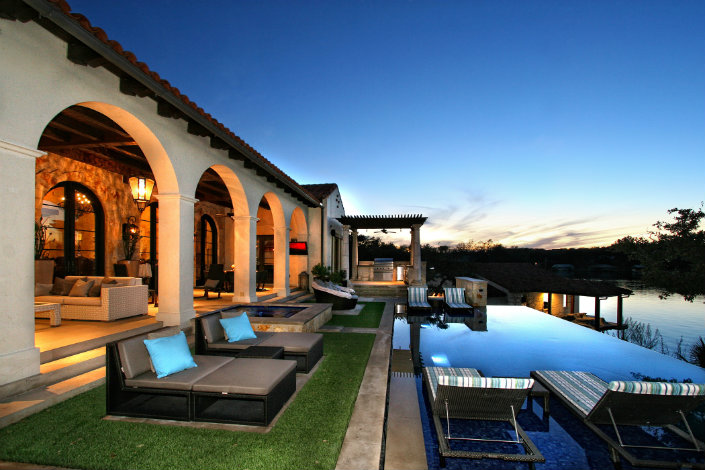 How to use a Lounge Chair in a Lounge Pool area How to use a Lounge Chair in a Poolside area How to use a Lounge Chair in a Poolside area Horseshoe Bay Lakefront Estate Outdoor Living Pool by Zbranek Holt Custom Homes Horseshoe Bay Custom Home Builder